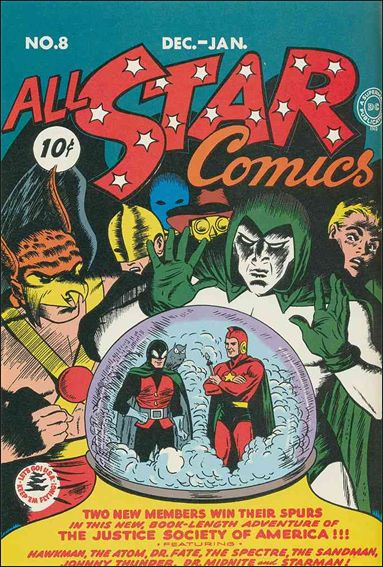 All Star Comics (1940) 8-A by DC