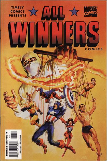 Timely Presents: All-Winners 1-A by Marvel