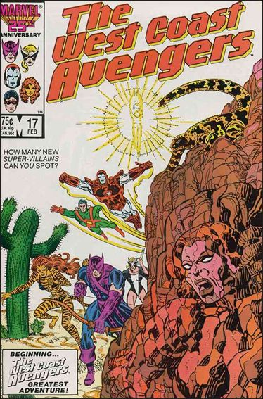 West Coast Avengers (1985) 17-A by Marvel