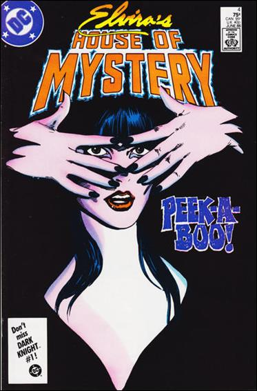 Elvira's House of Mystery 4-A by DC