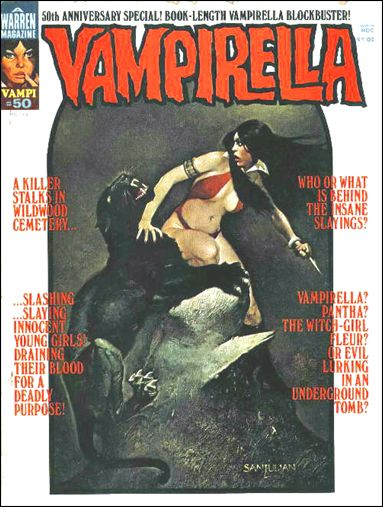 Vampirella 50-A by Warren