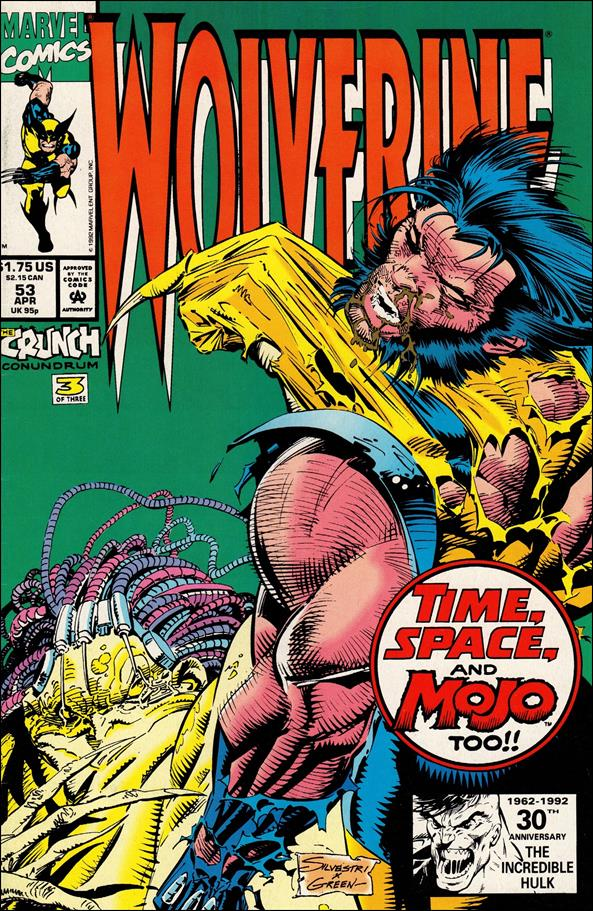 Wolverine (1988)  53-A by Marvel