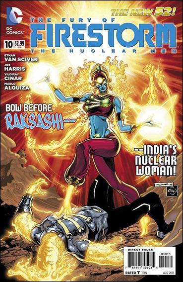 Fury of Firestorm: The Nuclear Men 10-A by DC