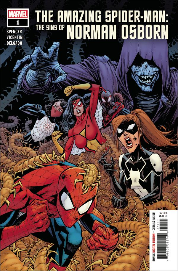 Amazing Spider-Man: The Sins of Norman Osborn 1-A by Marvel