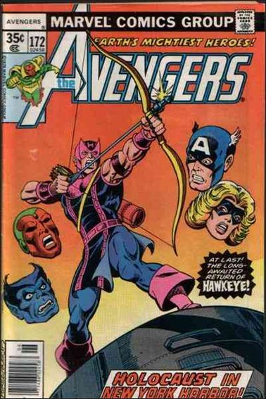 Avengers (1963) 172-A by Marvel