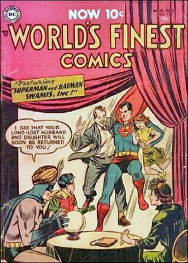 World's Finest Comics 73-A by DC