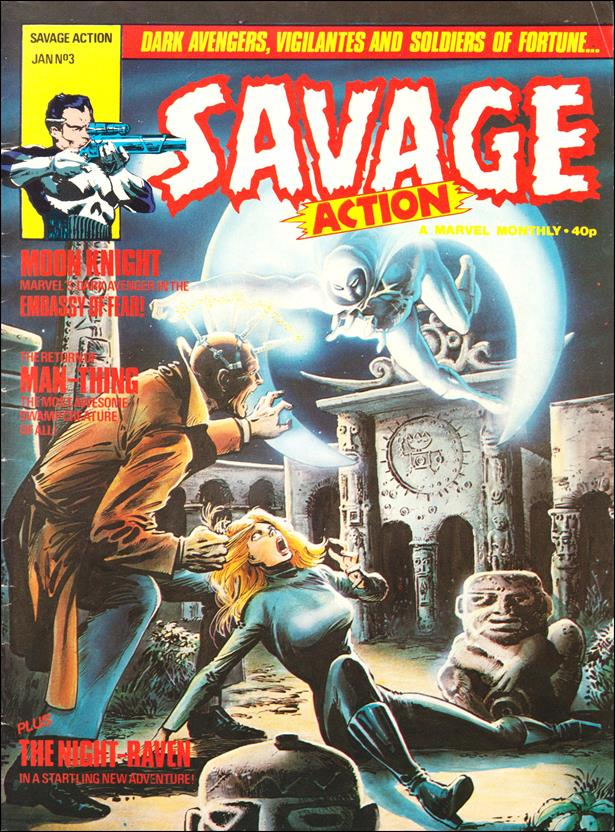 Savage Action (UK) 3-A by Marvel UK