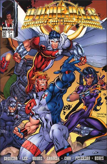 WildC.A.T.s: Covert Action Teams 50-A by Image