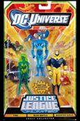 DC Universe: Justice League Unlimited - Fan Collection (3-Packs) Fire / Blue Beetle / Booster Gold