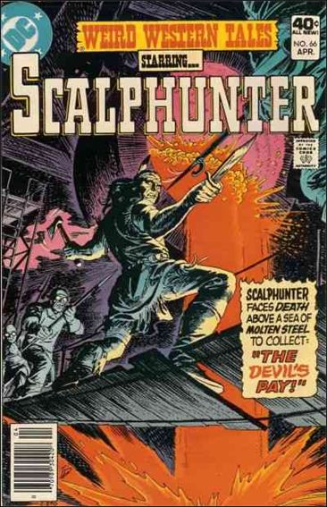 Weird Western Tales (1972) 66-A by DC