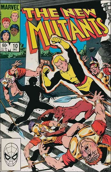 New Mutants (1983) 10-A by Marvel