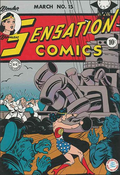 Sensation Comics (1942) 15-A by DC