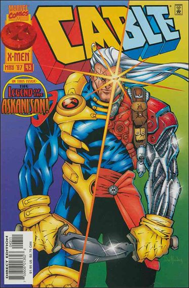 Cable (1993) 43-A by Marvel