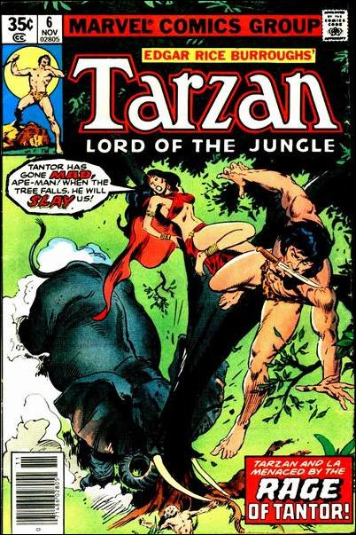 Tarzan (1977) 6-A by Marvel