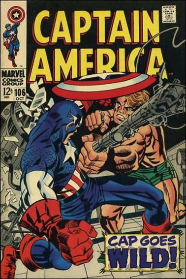 Captain America (1968) 106-A by Marvel