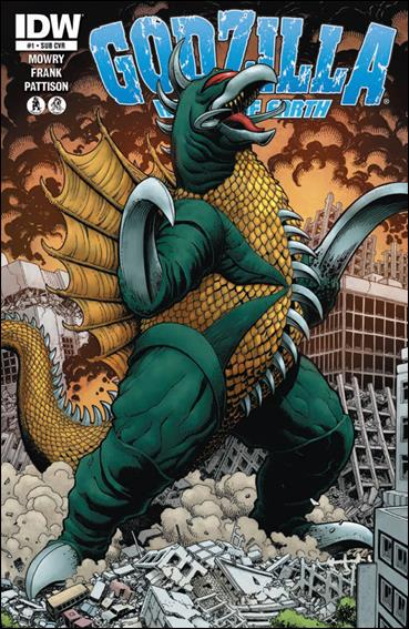 Godzilla: Rulers of the Earth 1-B by IDW