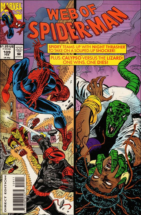 Web of Spider-Man (1985) 109-A by Marvel