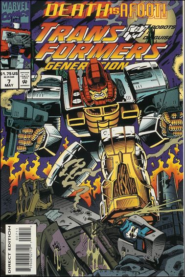 Transformers: Generation 2 (1993) 7-A by Marvel