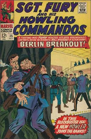 Sgt. Fury and His Howling Commandos 35-A