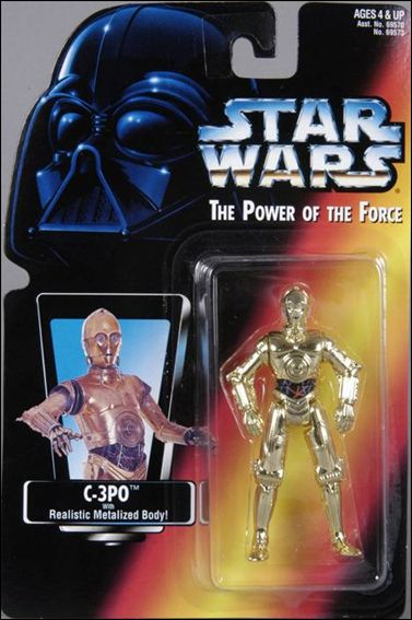 "Star Wars: The Power of the Force 2 3 3/4"" Basic Action Figures C-3PO by Kenner"