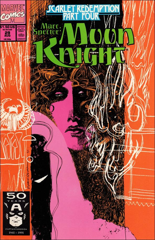 Marc Spector: Moon Knight 29-A by Marvel