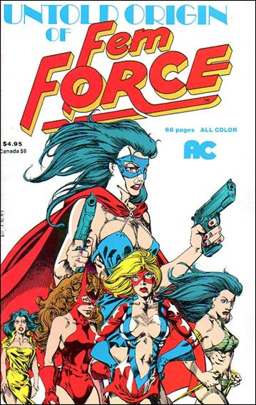 Untold Origin of Femforce 1-A by AC