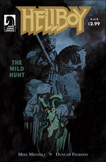 Hellboy: The Wild Hunt 8-A by Dark Horse