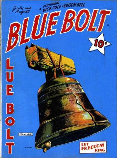 Blue Bolt (1943) 2-A by Novelty Press