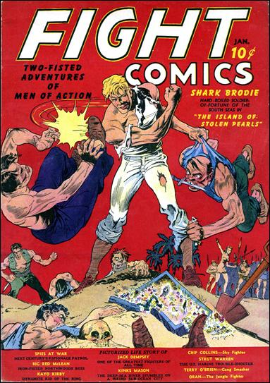 Fight Comics 1-A by Fiction House Magazines