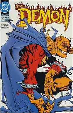 Demon (1990) 40-A by DC