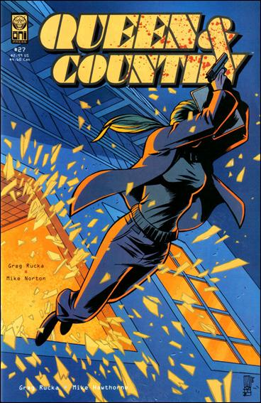 Queen & Country 27-A by Oni Press