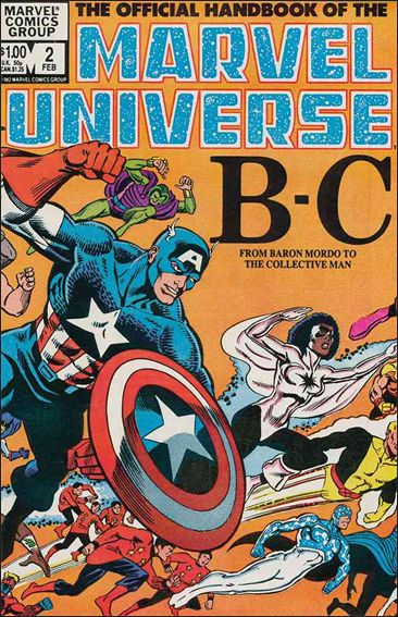 Official Handbook of the Marvel Universe (1983) 2-A by Marvel