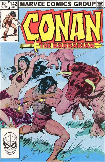 Conan the Barbarian (1970) 142-A by Marvel