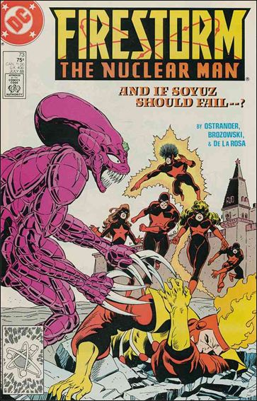 Firestorm The Nuclear Man (1987) 73-A by DC
