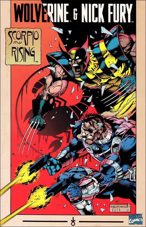 Wolverine and Nick Fury: Scorpio Rising 1-A by Marvel