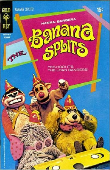 Banana Splits 4-A by Gold Key