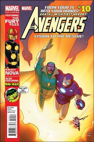 Avengers Earth's Mightiest Heroes (2012) 10-A