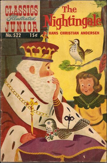 Classics Illustrated Junior 522-A by Famous Authors, Ltd.