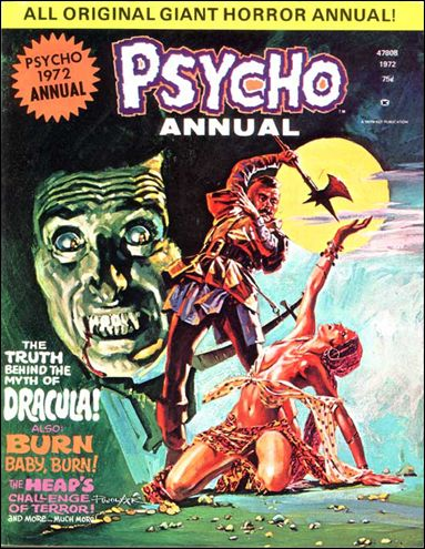 Psycho (1971) 1,972-A by Skywald