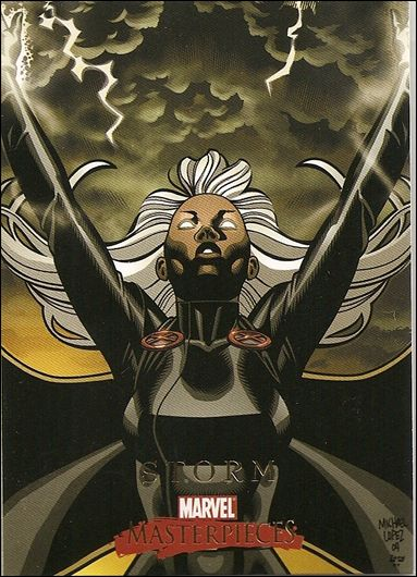 2008 Marvel Masterpieces: Series 2 (Base Set) 82-A by SkyBox