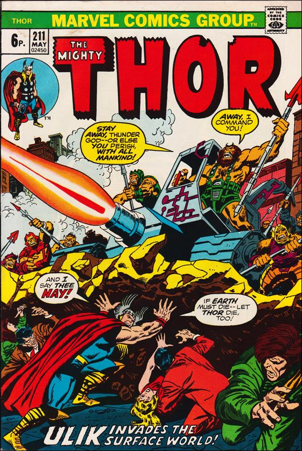 Thor (1966) 211-B by Marvel