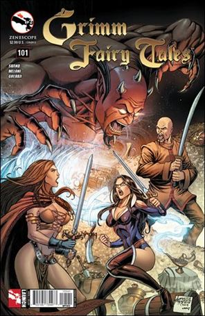 Grimm Fairy Tales 101-D