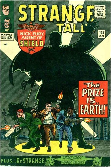 Strange Tales (1951) 137-A by Marvel