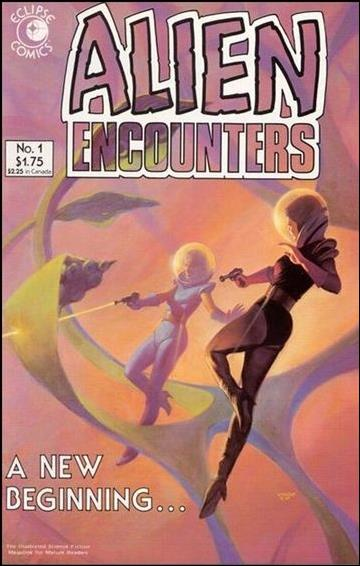 Alien Encounters (1985) 1-A by Eclipse