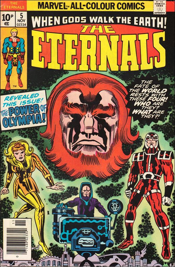 Eternals (1976) 5-B by Marvel