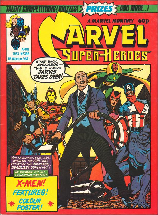 Marvel Superheroes (UK) 396-A by Marvel UK