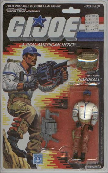 "G.I. Joe: A Real American Hero 3 3/4"" Basic Action Figures Hardball (Multi-Shot Grenadier) by Hasbro"