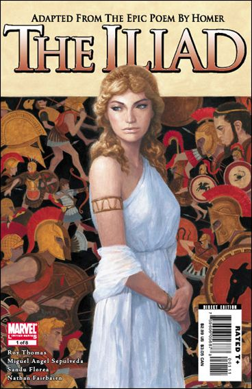 Marvel Illustrated: The Iliad 1-A by Marvel