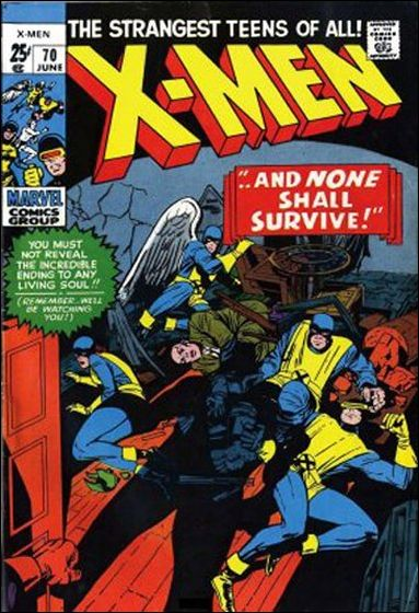 X-Men (1963) 70-A by Marvel