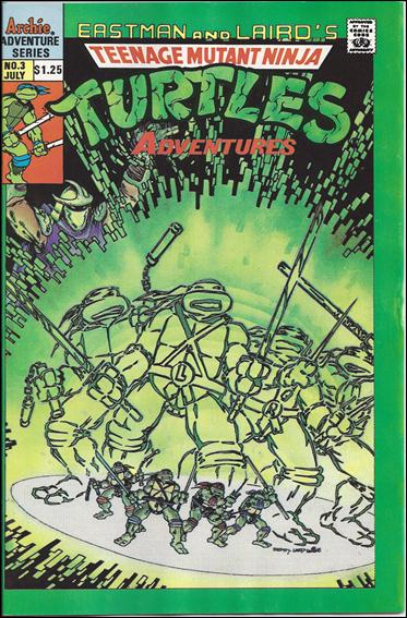 Teenage Mutant Ninja Turtles Adventures (1989) 3-C by Archie
